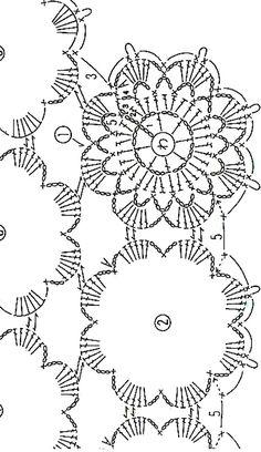 플라워도일리 / 코바늘 플라워모티브 도일리 무료도안 Crochet Circle Pattern, Crochet Tablecloth Pattern, Crochet Motif Patterns, Crochet Circles, Crochet Diagram, Crochet Designs, Crochet Doilies, Crochet Flowers, Crochet Art