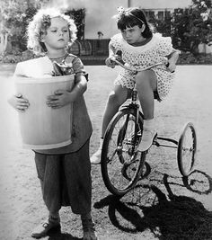 Shirley Temple and Jane Withers from BRIGHT EYES (1934)