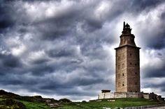 Torre de Hércules, A Coruña, Galicia, Spain.