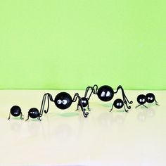 DIY's | My So Called Crafty Life  DIY Creepy and Cute Wooden Bead Spiders
