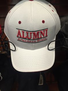0d623afb06e9 Arkansas State Alumni Hat in White