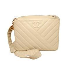 View this item and discover similar for sale at - FABULOUS CHANEL vintage cream caviar shoulder bag in excellent condition. Cream caviar leather exterior quilted in a diagonal pattern and trimmed with Shoulder Strap Bag, Quilted Shoulder Bags, Leather Shoulder Bag, Chanel Purse, Chanel Handbags, Chanel Bags, Coco Chanel, Leather Purses, Leather Handbags