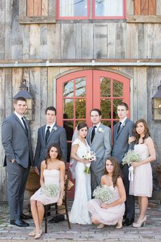 styled bridal party portraits