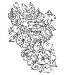 Zentangle-Doodle From Amazon By Artist Emila