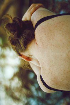 Freckles :)  ☠vintage photography☠