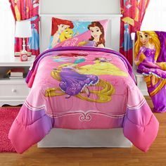 Disney's Bedazzling Princess 5-piece Bed In A Bag Set