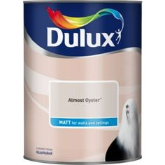 Dulux Neutrals Almost Oyster Matt Emulsion Paint 5L: Does this go with the grey stripped wallpaper?  (Hallway)