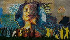 street art In San Antonio, Texas, USA