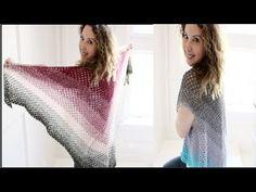 Easy Crochet Boho Shawl/Vest Tutorial - YouTube