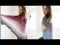 Easy Crochet Boho Shawl/Vest Tutorial