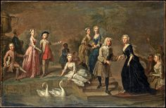 Uvedale Tomkyns Price (1685–1764) and Members of His Family Bartholomew Dandridge
