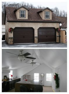 28 Best Two Car Garage Plans Images On Pinterest 2 Car Garage