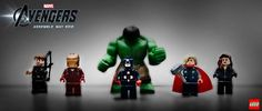 The Avengers LEGO   First Look