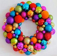 Coloring wreath