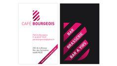 Création du logotype et de la carte de visite - Agence B17