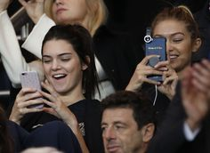 """Even when they look on their phones, it's like, """"OK, there's KenGi, probably laughing at secret texts they are sending each other."""" 