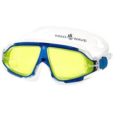 Mad Wave Sight II Goggles Blue  Yellow * Check this awesome product by going to the link at the image.(It is Amazon affiliate link) #babygift