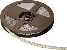 Pe primul loc, dupa numarul de LED-uri pe metru, BANDA LED 240x3528 18W/M 12V cu alb rece, ofera mai multa lumina decat oricare alt model de banda LED cu alimentare la tensiune 12V. Este flexibila, are banda adeziva si se poate utiliza la interior. Pretul este pe metru.