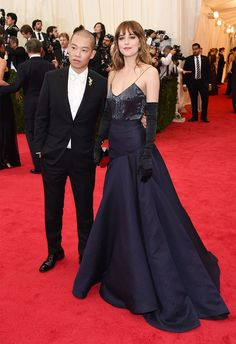 Jason Wu and Dakota Johnson | All The Pretty Dresses From The 2014 Met Ball