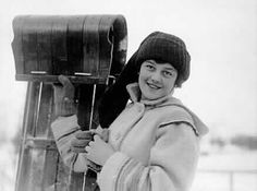 Winter Carnival Princess with toboggan, St. Paul Winter Carnival, St. Paul, Minnesota, 1916