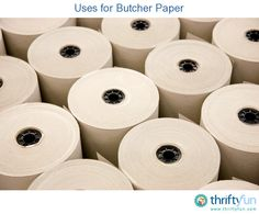 This is a guide about uses for butcher paper. Butcher paper is not just for wrapping meat, there are many other ways you can use this versatile product.