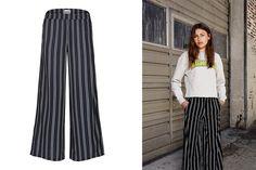 #CostBart Striped Pants! #Stripes #Kids #Fashion #Girls Striped Pants, Kids Fashion, Stripes, Sweater, Girls, Design, Style, Fashion Styles, Stripped Pants