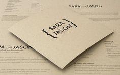 .invitation inspiration - clean, simple, modern