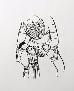 pedalarepedalare:  thestumpone: Quik sketch