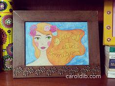 Posters magnéticos Sementinhas Cor-de-Rosa: pra colocar mais amor na casa e na vida! www.caroldib.com