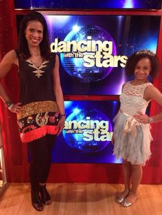 Holly & Nia Frazier at Dancing With The Stars