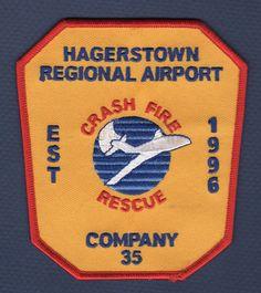 "fire patch Airport 3.75/"" x 4/"" size Grand Canyon Airport  Crash Rescue AZ"