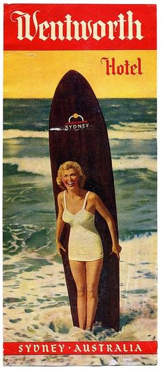 Hotels often issued their own tourism posters