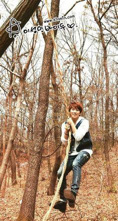 SUPER JUNIOR Lee Sungmin So cute. <3