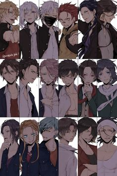 Touken Ranbu swords in modern clothes Anime Boys, Hot Anime Boy, Cute Anime Guys, Awesome Anime, Top Anime, Chica Anime Manga, Manga Boy, Touken Ranbu, Kamigami No Asobi