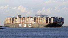 Grootste containerschip ter wereld in Rotterdam | RTV Rijnmond