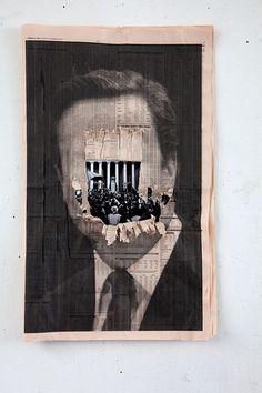 """Blue Murder"" Peter Kennard and Cat Phillipps @ Hang Up Gallery London"