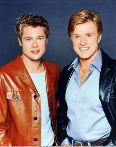 Brad Pitt & Robert Redford
