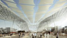 Gallery of Dubai Wins World Expo 2020 Bid with HOK-Designed Master Plan - 4