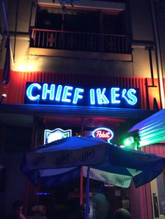 Open mic at Chief Ike's in Adam Morgan.