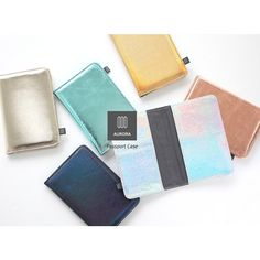 Livework Aurora RFID blocking passport cover case - fallindesign