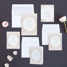 """Dreamy"" - Bohemian Foil-pressed Wedding Invitations in Rose Gold by Phrosne Ras design Blush And Gold, Rose Gold, Pastel Wedding Invitations, Blush Weddings, Boho Wedding, Weddingideas, Wedding Cards, Wedding Colors, Wedding Planner"