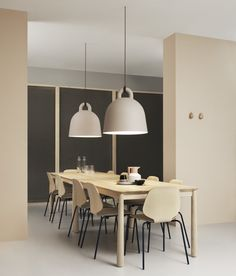 The expression of Bell is robust, the form is simple. Bell is a pendant lamp in an iconic bell shape where special attention has been paid to its details.
