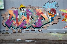 Graffiti Varedo (IT) October 2012  art kunst streetart cartoon Italië Italy Photo by: Jascha Hoste