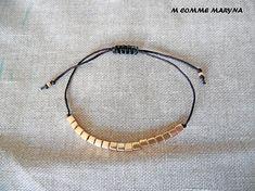 NOUVEAUTÉ Bracelet d'amitié minimaliste réglable en perles Hoop Earrings, Etsy, Jewelry, Fashion, Minimalist, Unique Jewelry, Bricolage, Jewellery Making, Moda