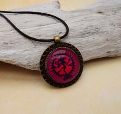 inspirierende Halskette Mandala Kette Shiva von KIMAMAdesign