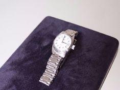 0eeb0edbed Orologio da donna a carica manuale Missil vintage con cinturino in acciaio  | Orologi e gioielli