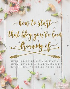 We Lived Happily Ever After: How To Start Your Own Blog And Make Money Doing It | Part 1: Setting Up A Blog
