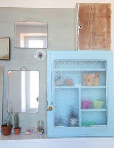 Ledansla Schlicht, Blau Badezimmer, Kawaii Zimmer, Badezimmer,  Badezimmerschränke, Ideen Zur Innenausstattung