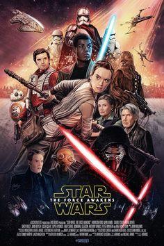Star Wars: The Force Awakens Poster www.cineflixdaily.com #StarWars