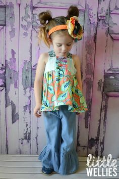 NEW - Seafoam Candy Reverse Knot Top